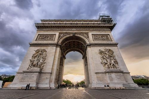 L'Arco di Trionfo di Parigi