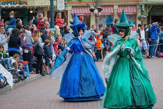 Fatine Disney, parata DisneyLand Parigi