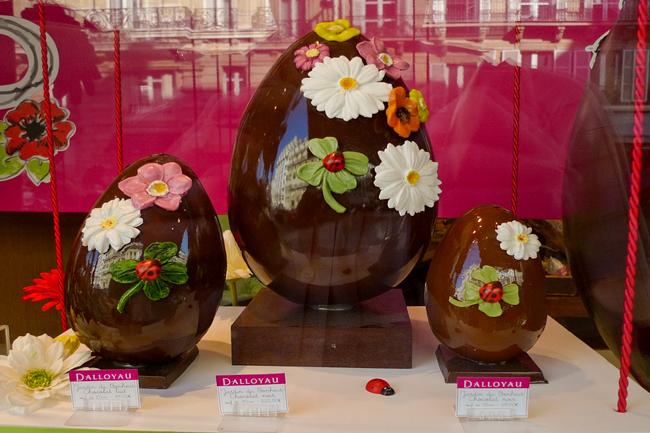Uova di cioccolato, Parigi