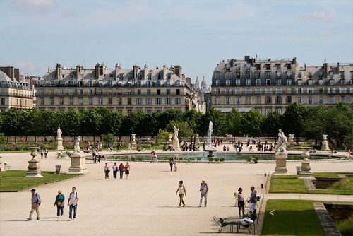 I bellissimi giardini delle Tuileries, progettati per Caterina de' Medici