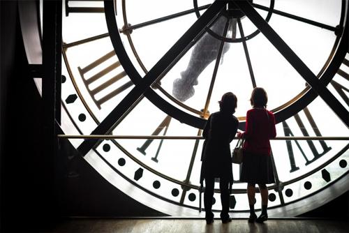 Orologio del Museo d'Orsay di Parigi