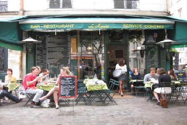 Ristorante del quartiere Marais di Parigi
