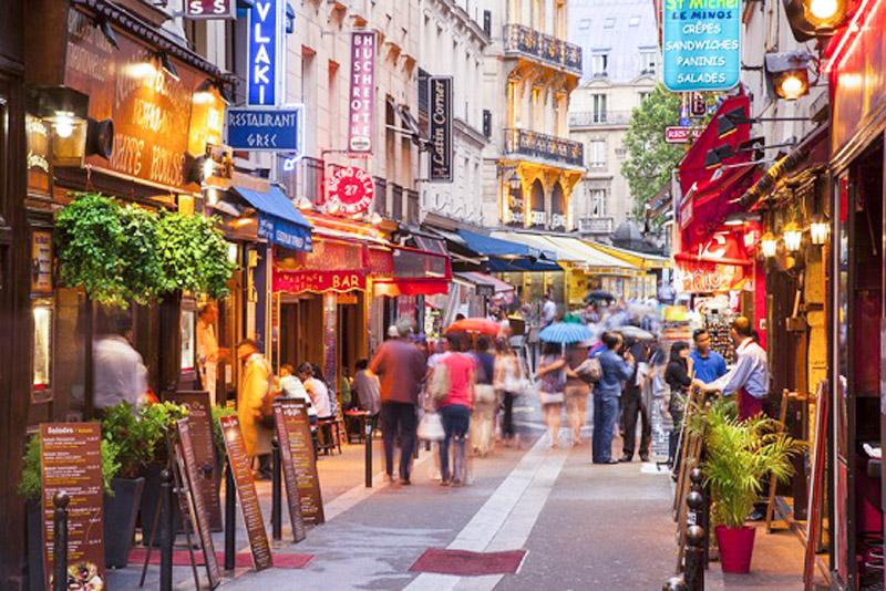 El Barrio Latino, 15° arrondissement de París
